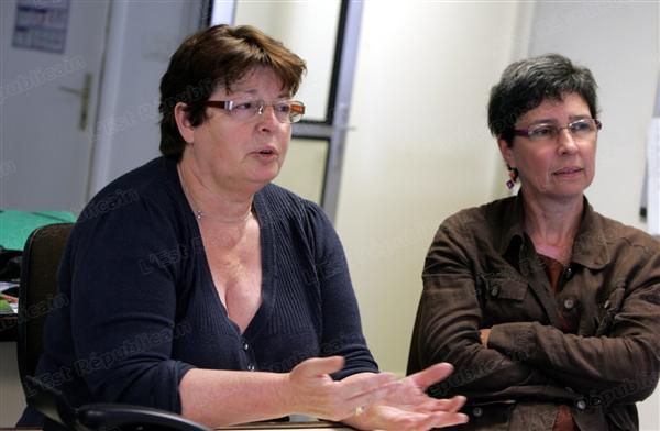 Les candidats estiment qu'« un gouffre » les sépare du PS. Photo Jean-Luc GILLMÉ